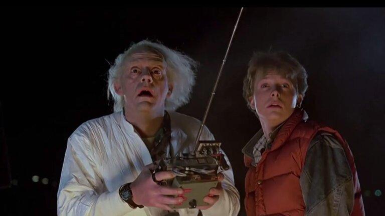 Vissza a jövőbe idézetek - Marty és a doki elindítja az időgépet