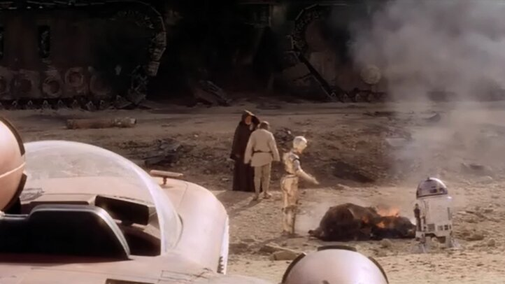 Star Wars - Egy új remény - Jawakat megtámadták