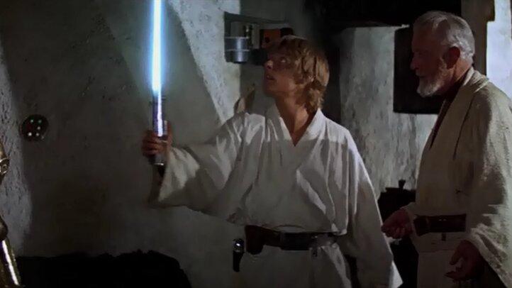 Star Wars - Egy új remény - Luke fénykardja