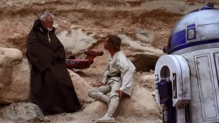 Star Wars - Egy új remény - Obi-Wan megmenti Luke-ot