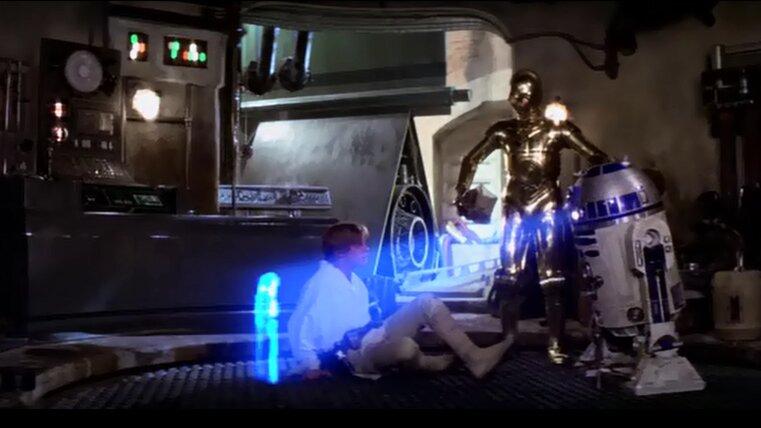 Star Wars - Egy új remény - Rejtélyes üzenet