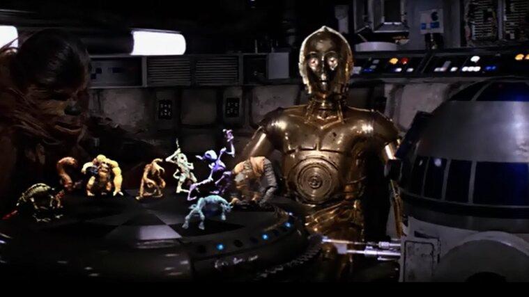 Star Wars - Egy új remény - Sakkparti
