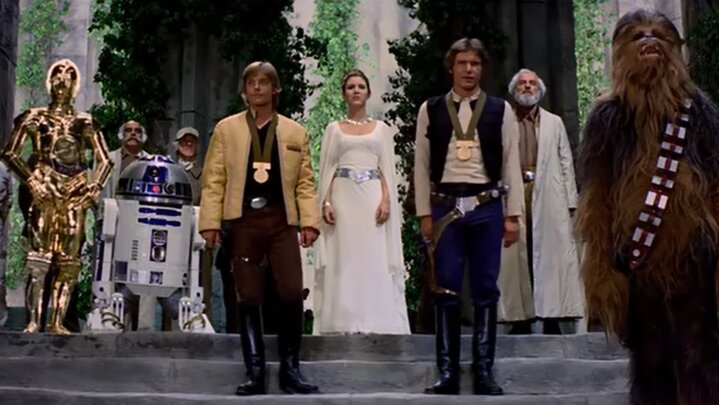 Star Wars - Egy új remény - Ünneplés