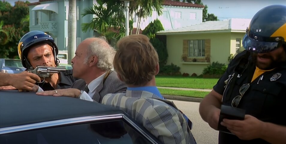 Bud Spencer - Bűnvadászok - Kormányzó és államügyész