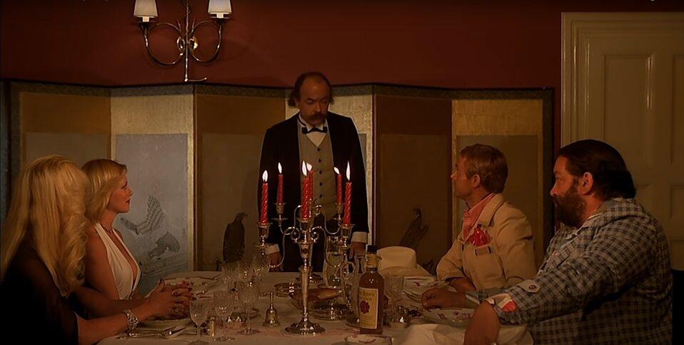 Bud Spencer - Bűnvadászok - Romantikus vacsora