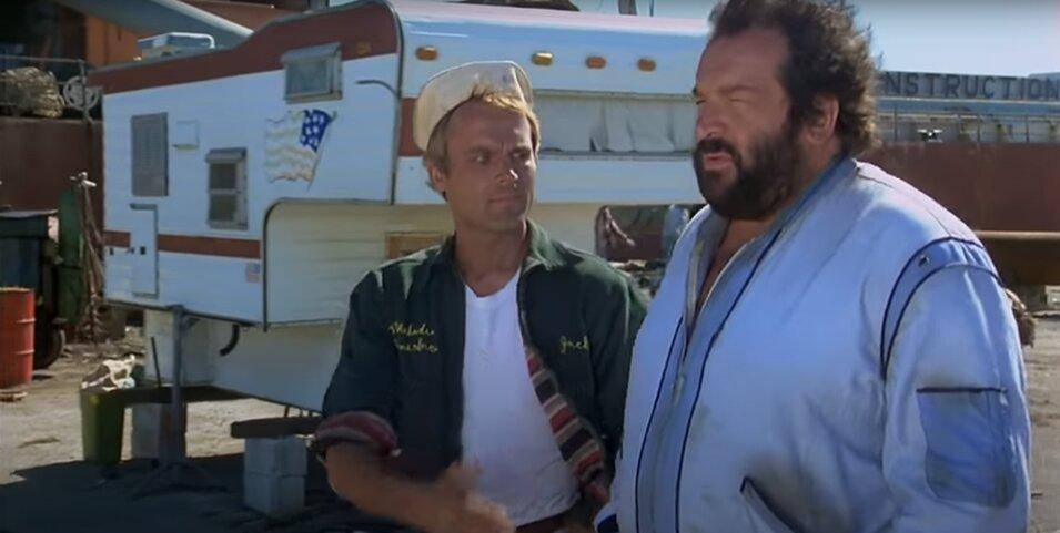 Bud Spencer - Bűnvadászok - Wilbur és Matt