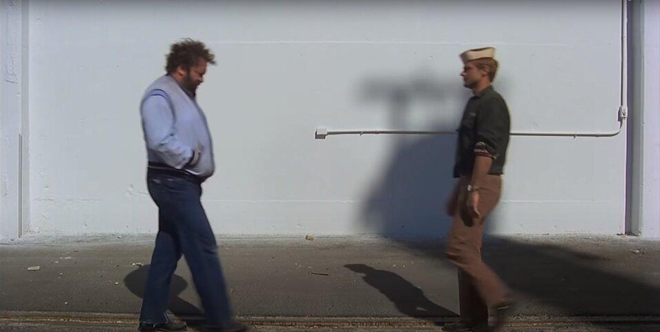 Bud Spencer - Bűnvadászok - Wilbur és Matt első találkozás