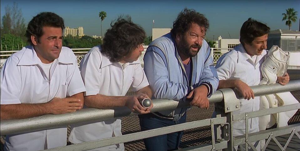 Bud Spencer - Bűnvadászok - Wilbur és az ápolók