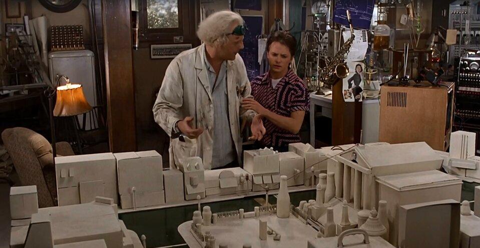 Vissza a jövőbe idézetek - A város modellje