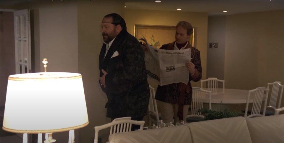 Bud Spencer - Nincs kettő négy nélkül - Coimbrák elolvassák az újságot