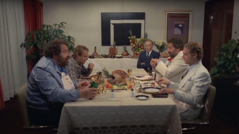 Bud Spencer - Nincs kettő négy nélkül - Villásreggeli négyesben