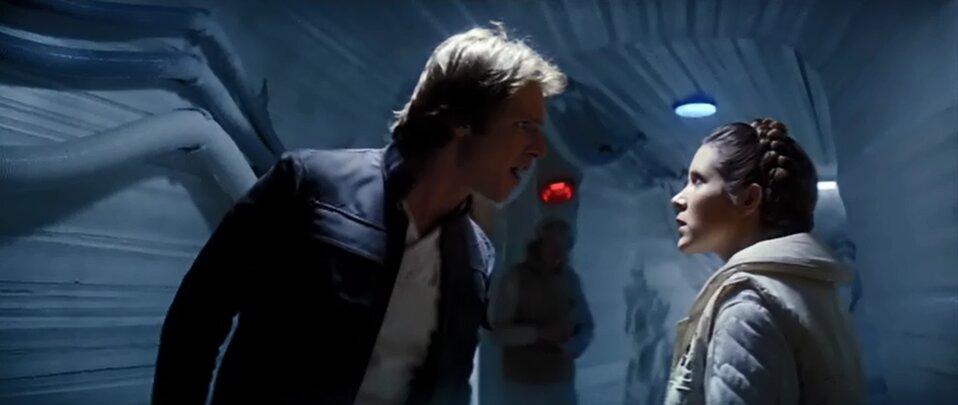Star Wars - A birodalom visszavág - Han és Leia
