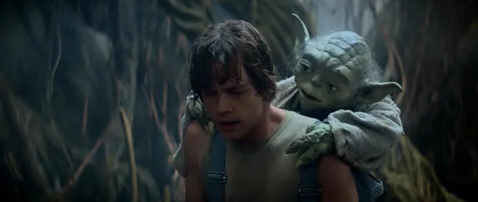 Star Wars - A birodalom visszavág - Jedi edzés