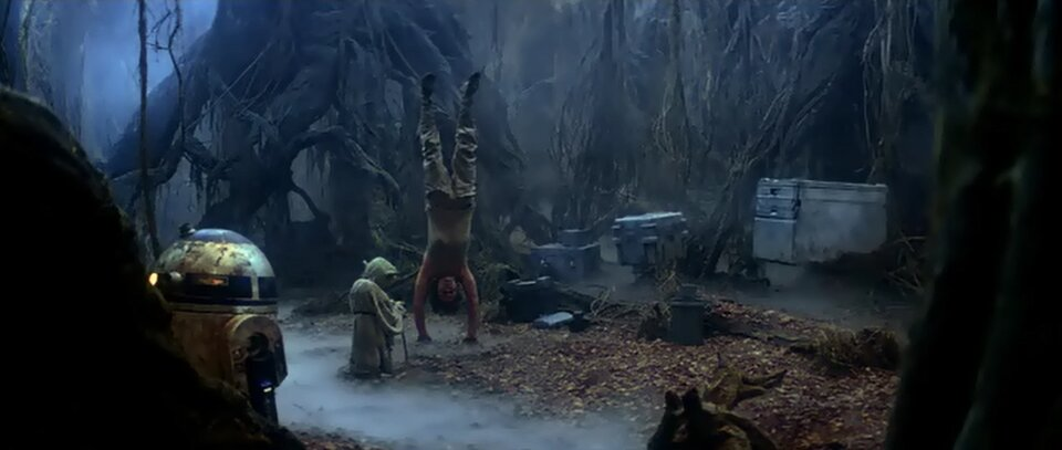 Star Wars - A birodalom visszavág - Jedi tanítás