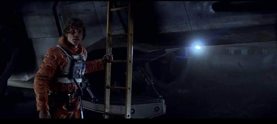Star Wars - A birodalom visszavág - Luke a pilóta