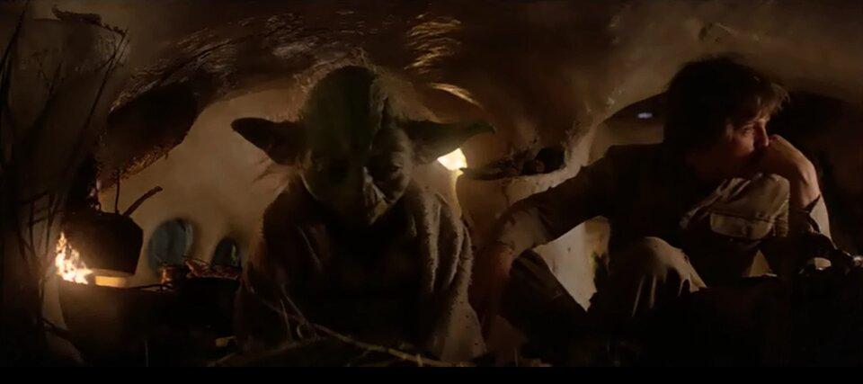 Star Wars - A birodalom visszavág - Yoda és Luke