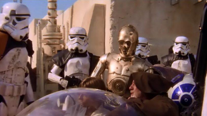Star Wars - Egy új remény - nem ezek azok a droidok, amiket keresnek