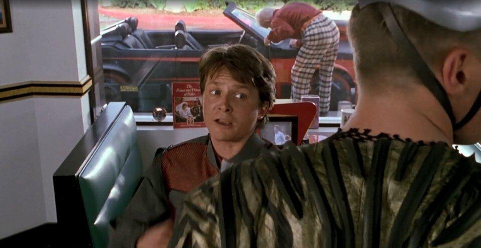 Vissza a jövőbe 2 idézetek - Nyuszi vagy McFly