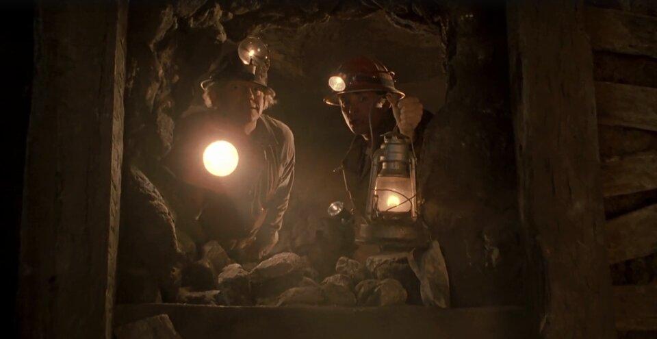 Vissza a jövőbe 3 idézetek - Marty és doki a bányában