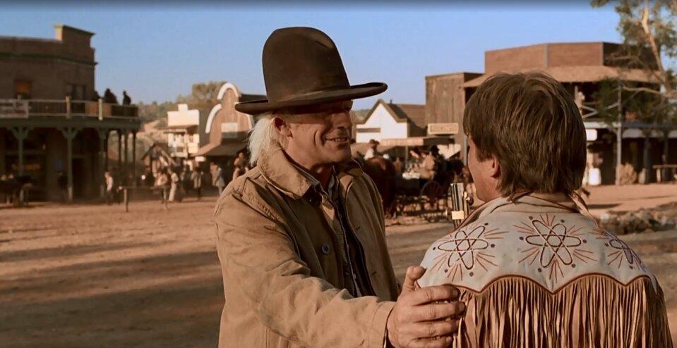 Vissza a jövőbe 3 idézetek - Marty és doki találkozás a vadnyugaton