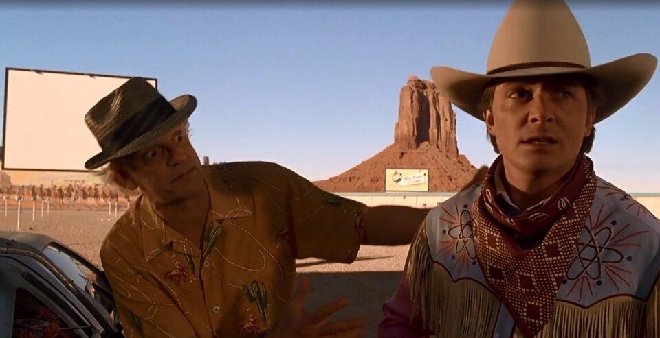 Vissza a jövőbe 3 idézetek - Marty elindul vadnyugatra