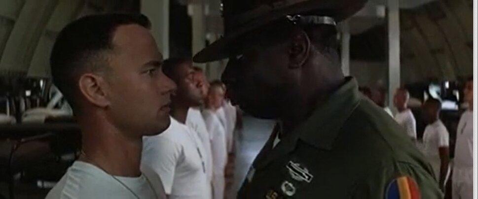Forrest Gump - Forrest a seregben