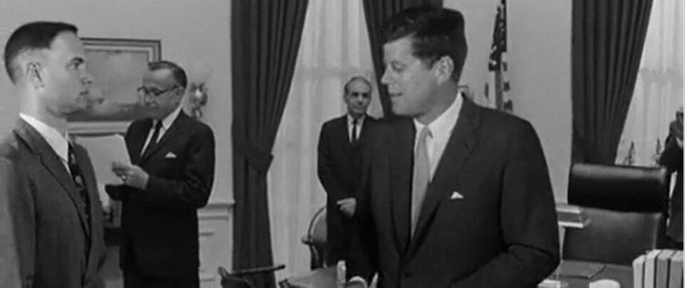 Forrest Gump - Forrest találkozik Kennedyvel