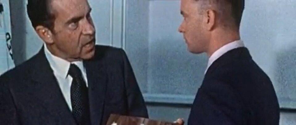 Forrest Gump - Forrest találkozik Nixonnal